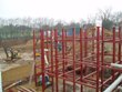 Princess Park Manor - Steelwork during construction